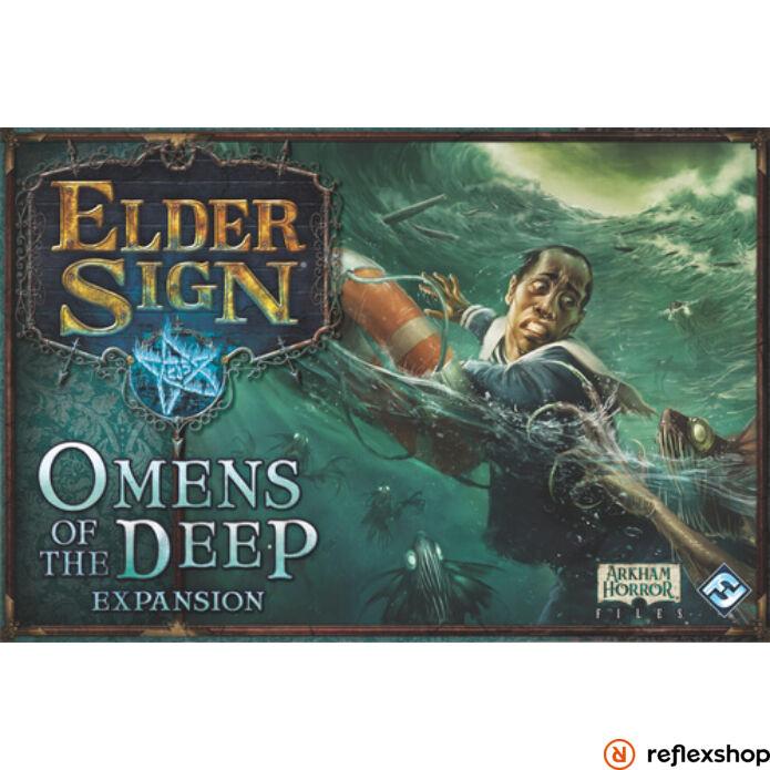 Elder Sign Omens of the Deep társasjáték angol nyelvű kiegészítő