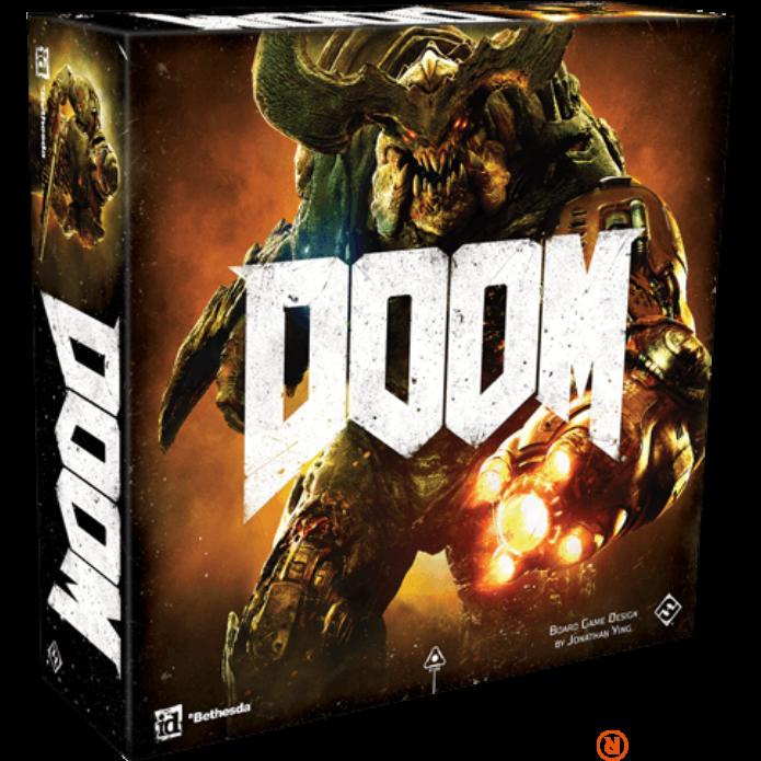 Doom társasjáték második kiadás, angol nyelvű