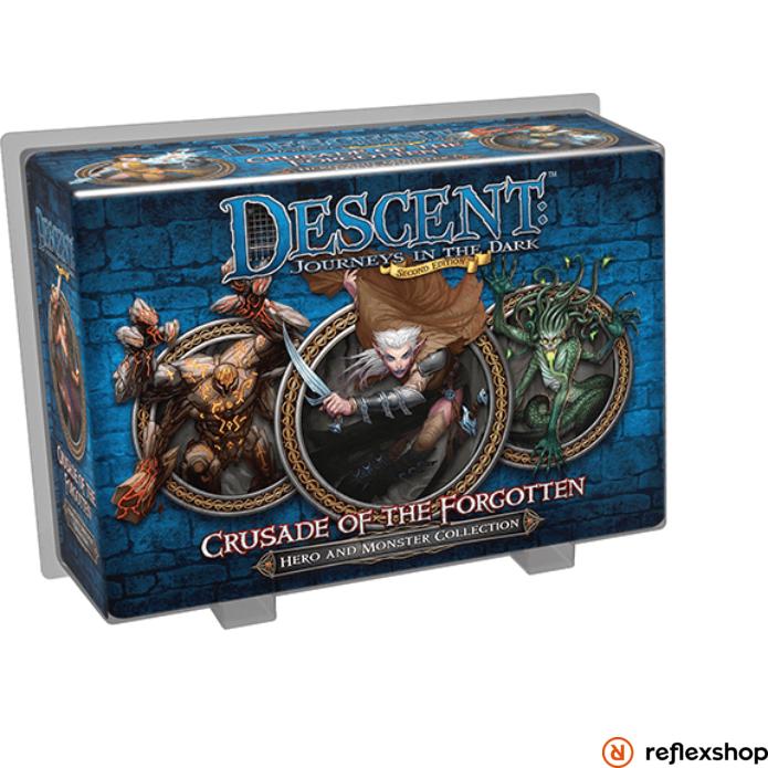 Descent:Journeys in the Dark (második kiadás) Crusade of the Forgotten Hero & Monster