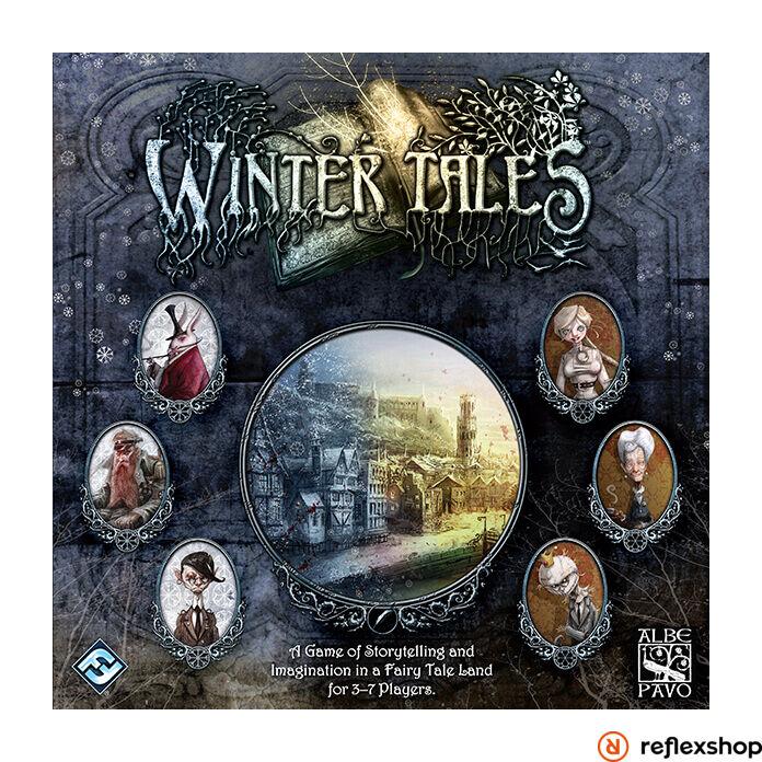 Winter Tales angol nyelvű társasjáték