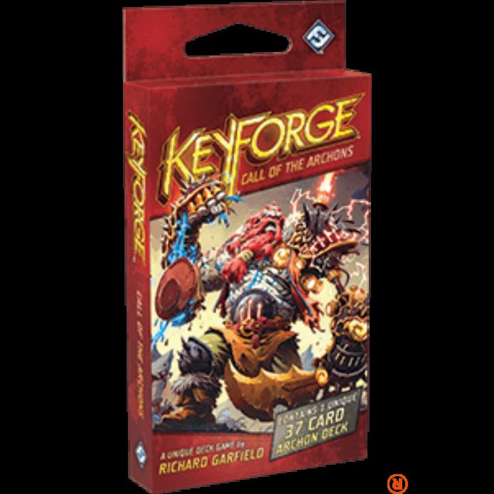 KeyForge Call of the Archons Archon társasjáték, angol nyelvű