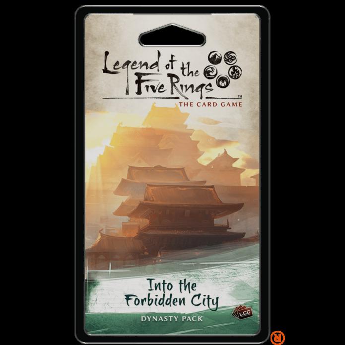 Legend of The Five Rings LCG Into the Forbidden City angol nyelvű kiegészítő