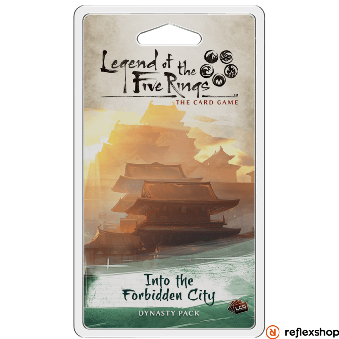 Legend of The Five Rings LCG Into the Forbidden City angol nyelvű kiegészítő