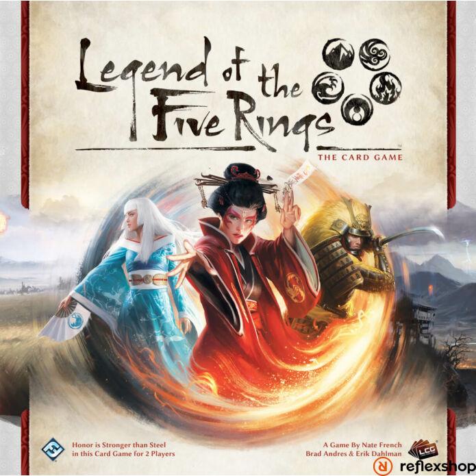 Legend of the Five Rings LCG, angol nyelvű társasjáték