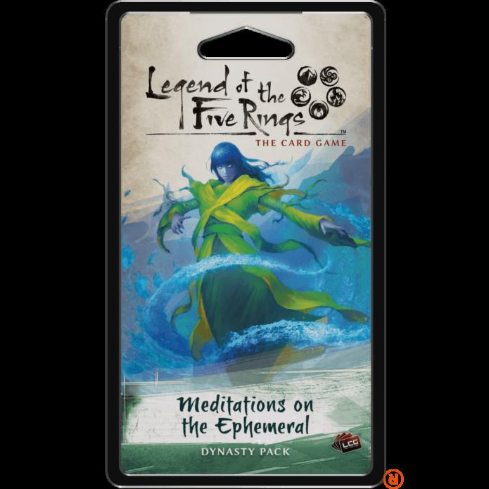Legend of The Five Rings LCG Meditations on the Ephemeral angol nyelvű kiegészítő