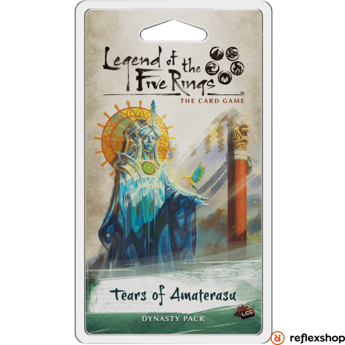 Legend of The Five Rings LCG Tears of Amaterasu angol nyelvű kiegészítő