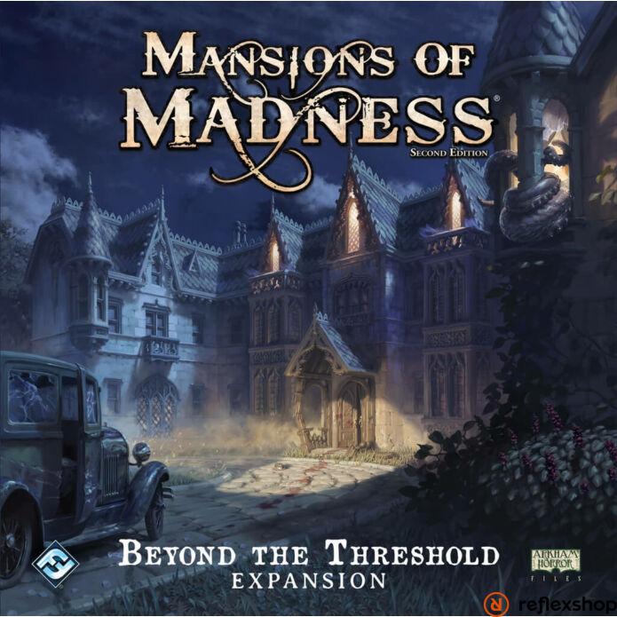 Mansions of Madness társasjáték Beyond Threshold angol nyelvű kiegészítő