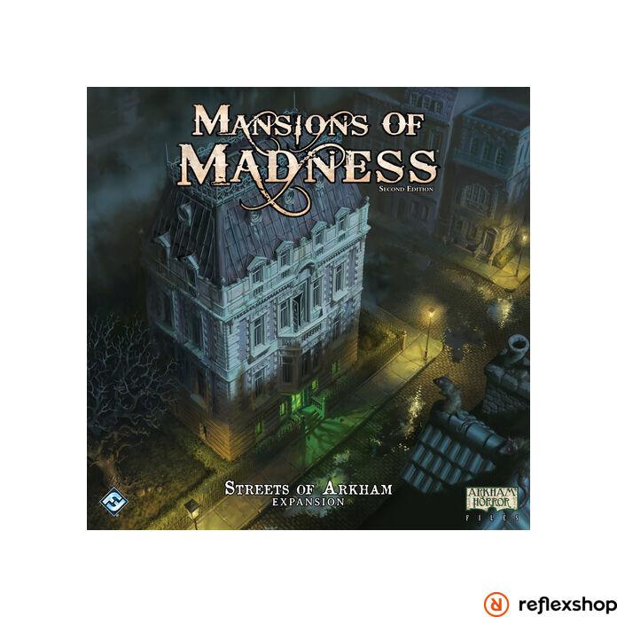 Mansions of Madness társasjáték angol nyelvű kiegészítő