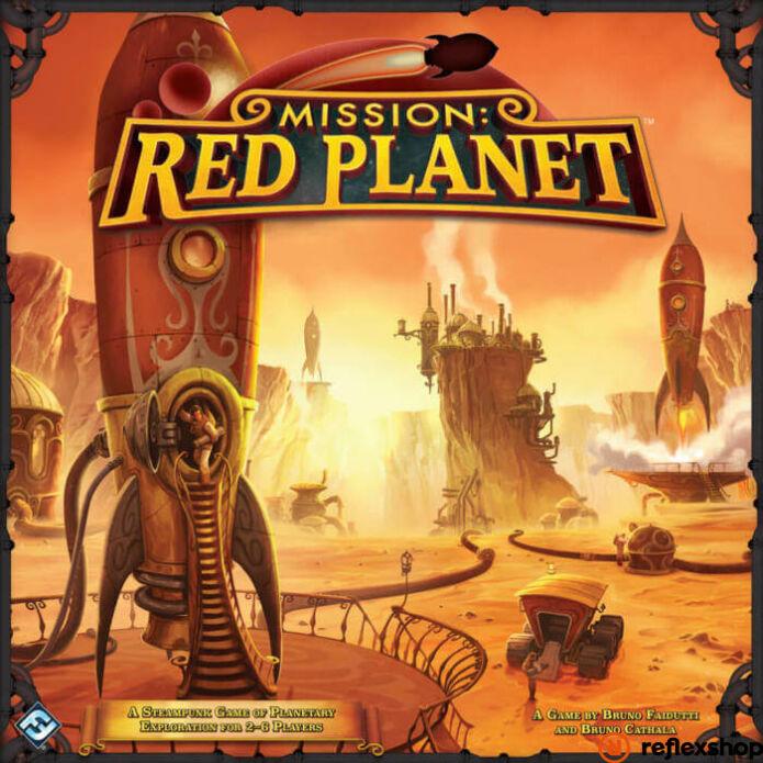 Mission Red Planet angol nyelvű társasjáték, második kiadás