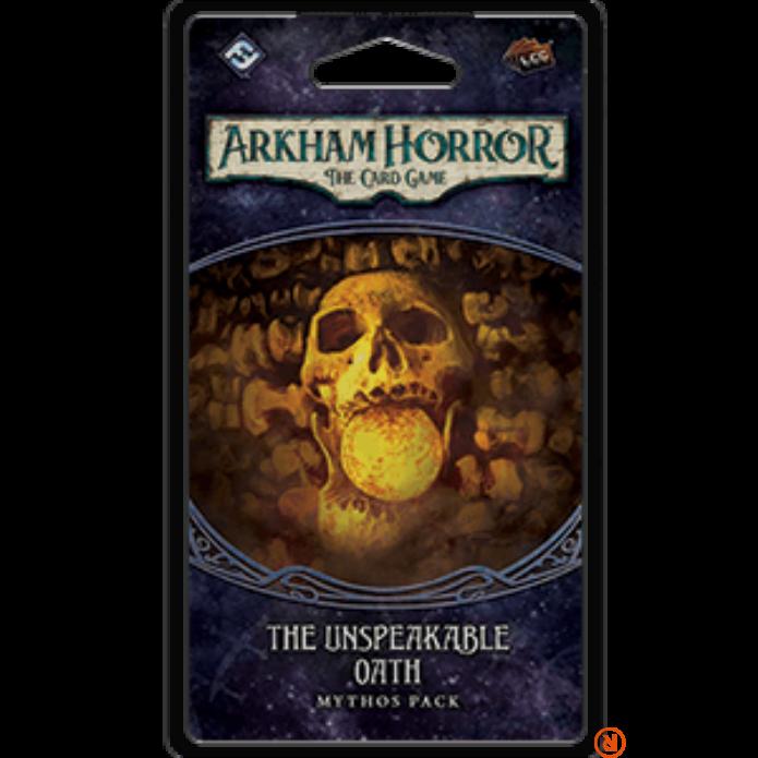 Arkham Horror kártyajáték The Unspeakable Oath angol nyelvű kiegészítő