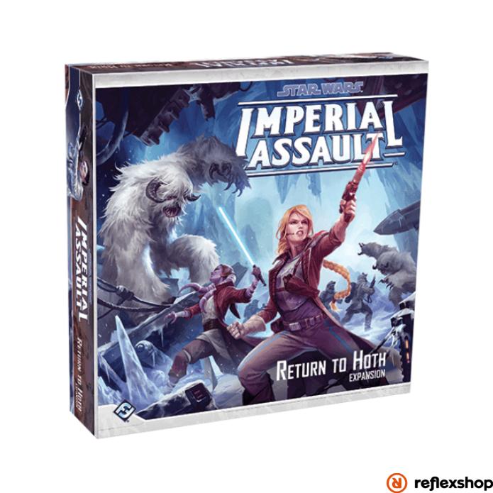 Star Wars Imperial Assault: A Return to Hoth angol nyelvű kiegészítő