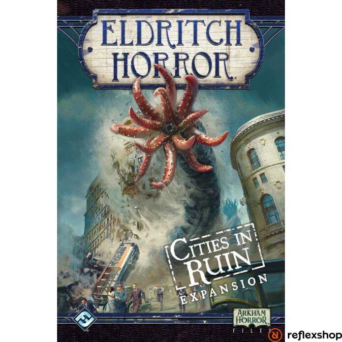 Eldrich Horror társasjáték Cities in Ruin kiegészítő, angol nyelvű