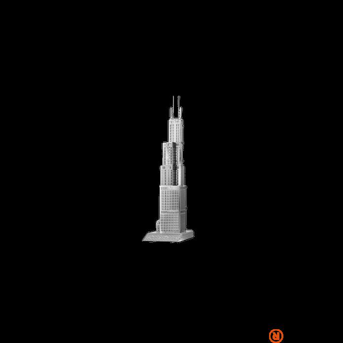 Metal Earth ICONX Sears Tower