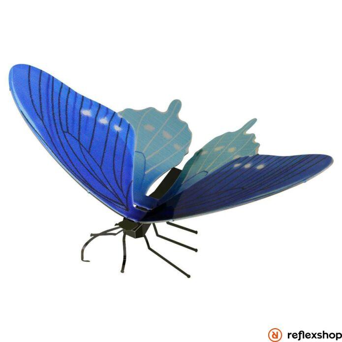 Metal Earth Kék fecskefarkú pillangó