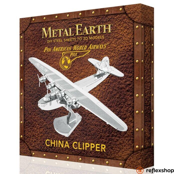 Metal Earth China Clipper repülőgép, dobozos