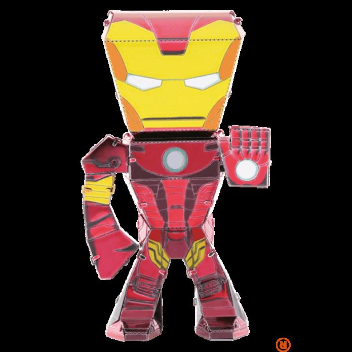 Metal Earth Marvel Bosszúállók - Vasember mini modell
