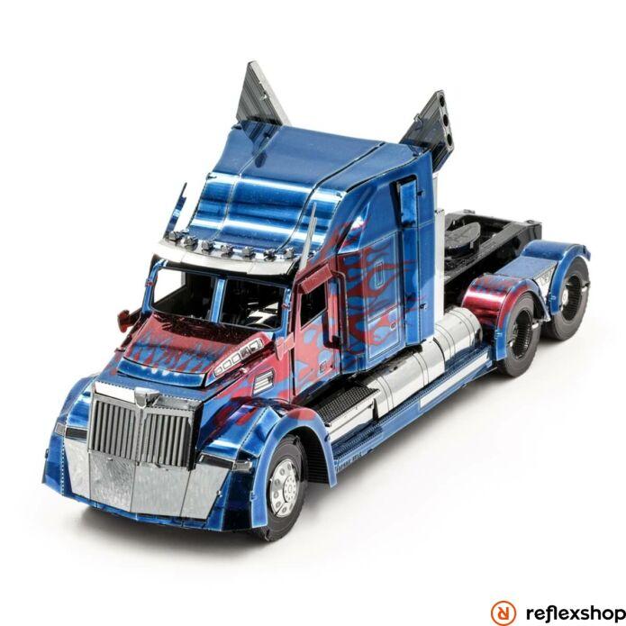 Metal Earth ICONX Optimus Prime Western Star 5700 kamion - nagyméretű lézervágott acél makettező szett