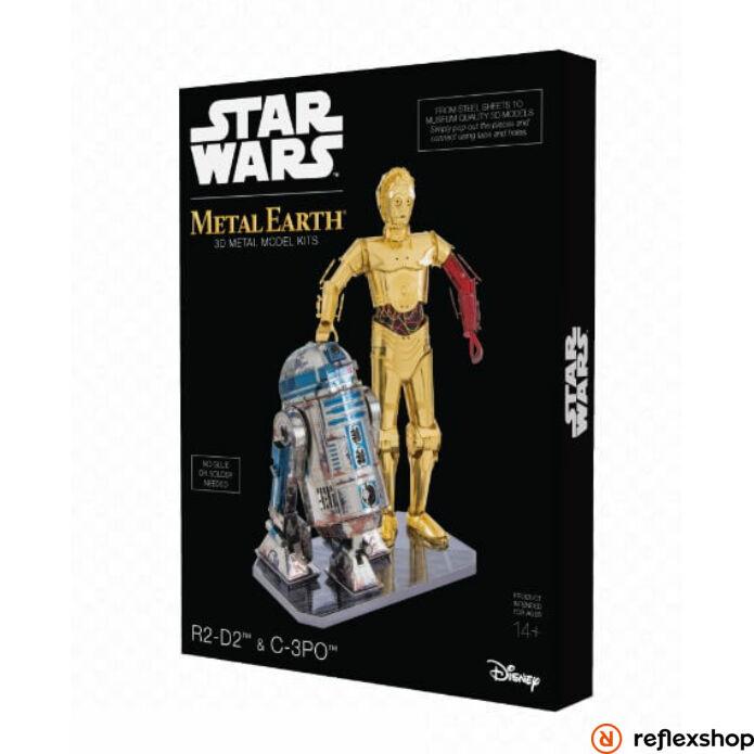 Metal Earth Star Wars R2-D2 és C-3PO szett, díszdobozos