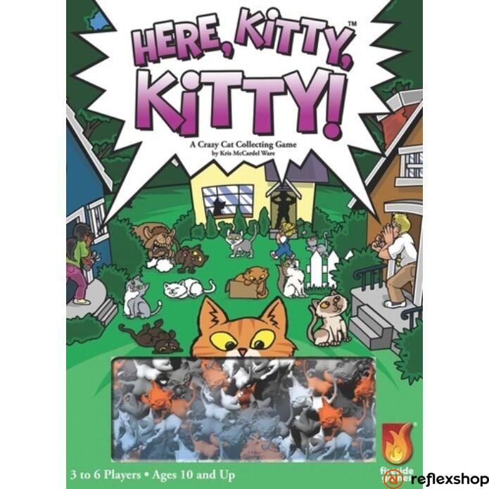 Here Kitty, Kitty társasjáték, angol nyelvű