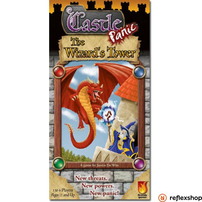 Castle Panic The Wizard's Tower angol nyelvű kiegészítő