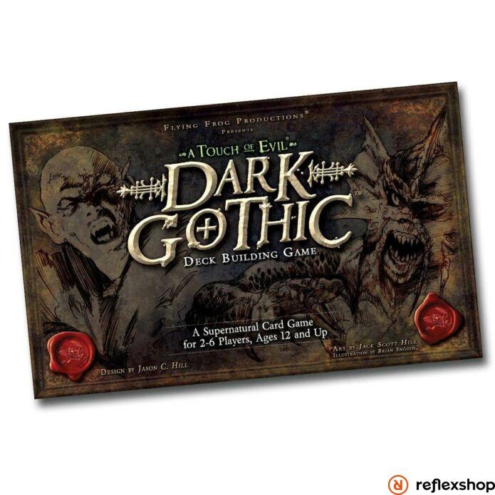 Dark Gothic pakliépítő társasjáték, angol nyelvű