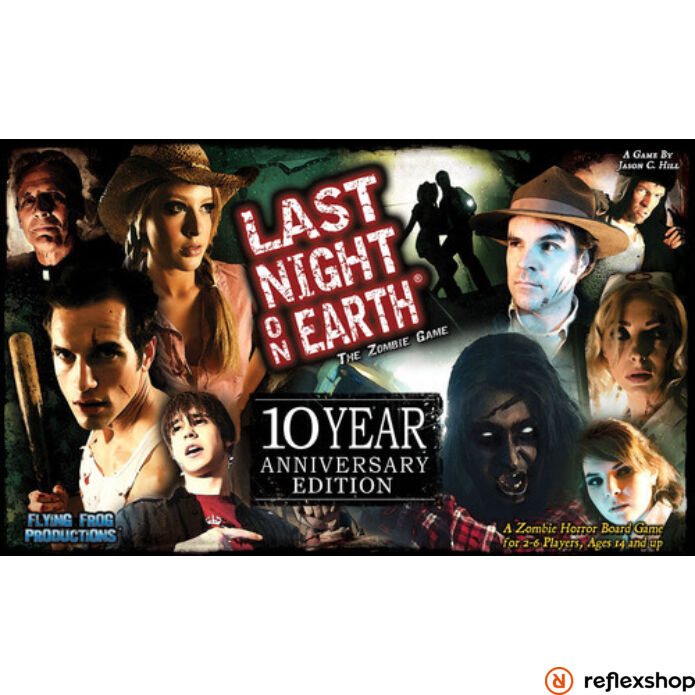 Last Night on Earth - anniversary edition, angol nyelvű