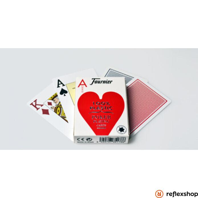 Fournier No 2500 standard index 100% plasztik kártya