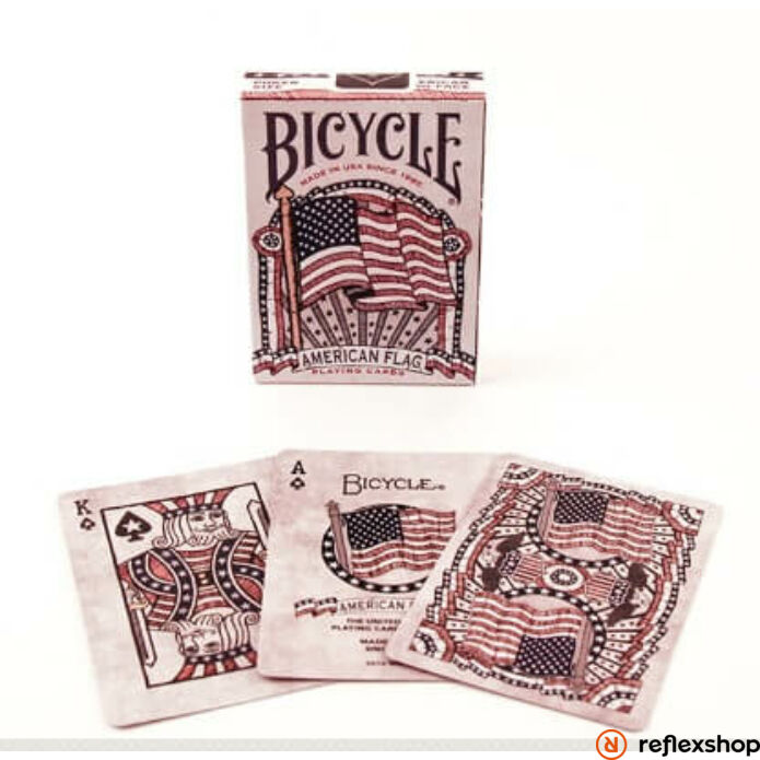 Bicycle American Flag kártya