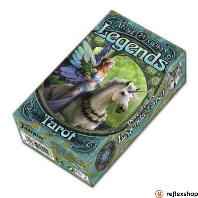 Anne Stokes Legendák Tarot kártya