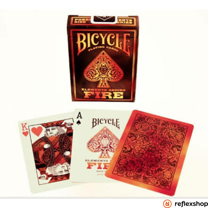 Bicycle Fire kártya