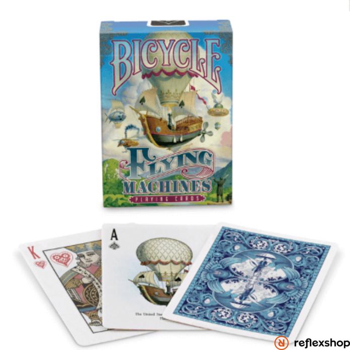 Bicycle Flying Machines Kék kártya