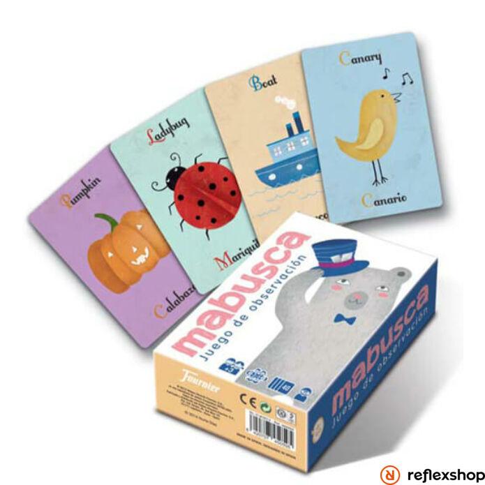MABUSCA fejleszt? kártyajáték