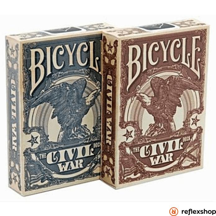 Bicycle Civil War póker kártya