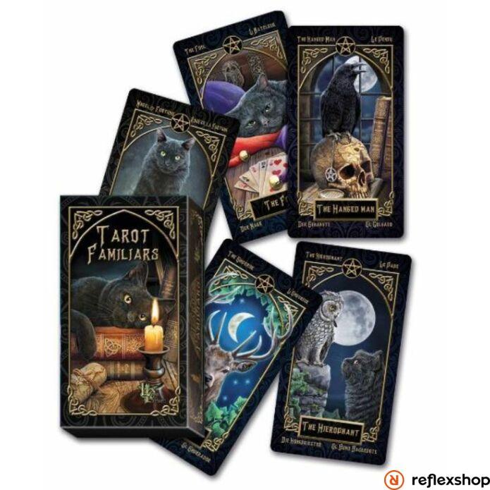 Fournier Lisa Parker Familiars Tarot kártya