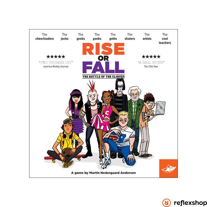 Rise or Fall társasjáték