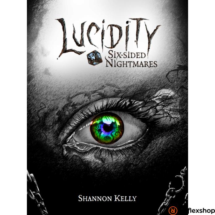 Lucidity Six-sided Nightmares társasjáték, angol nyelvű