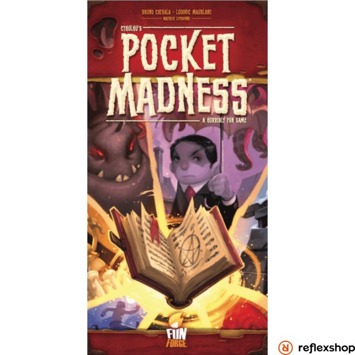 Pocket Madness angol nyelvű társasjáték