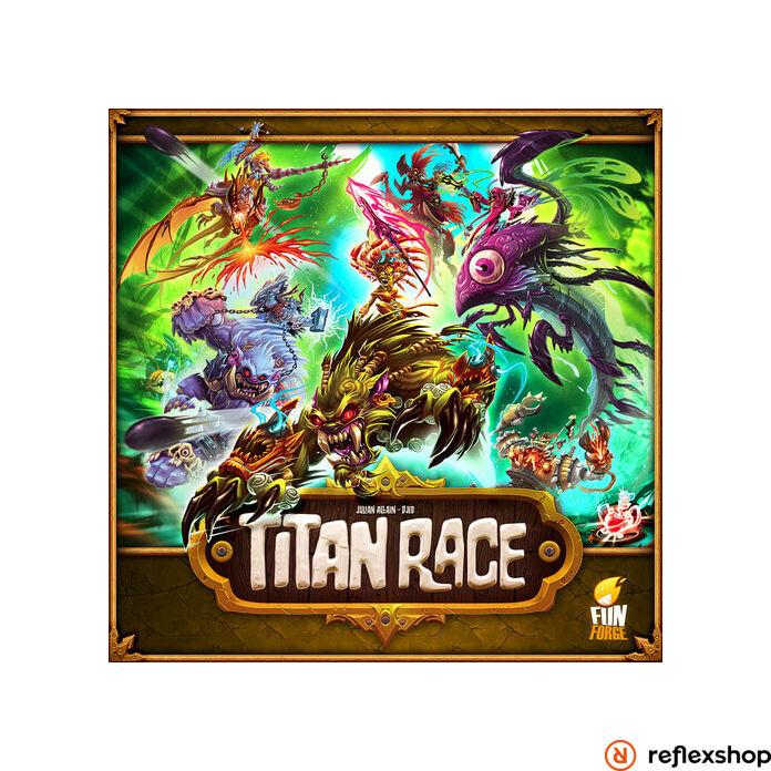 Titan Race angol nyelvű társasjáték
