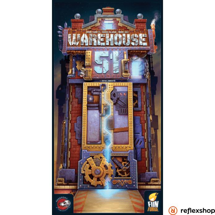 Warehouse 51 angol nyelvű társasjáték