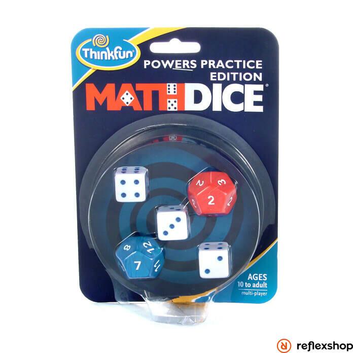 Thinkfun Math Dice Powers - hatványok logikai társasjáték