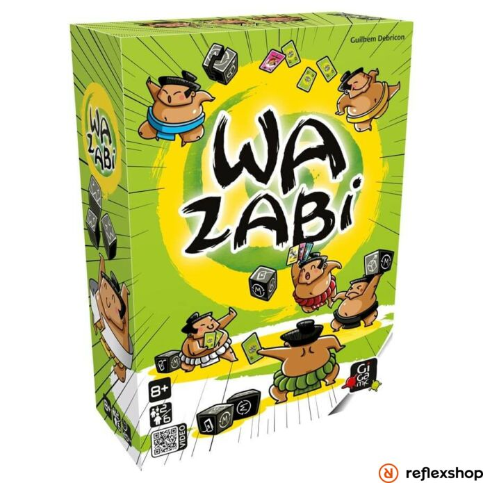 Gigamic Wazabi logikai társasjáték