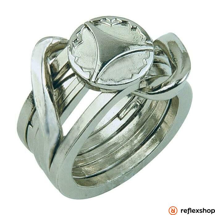 Cast Silver - Ring II ***** ördöglakat