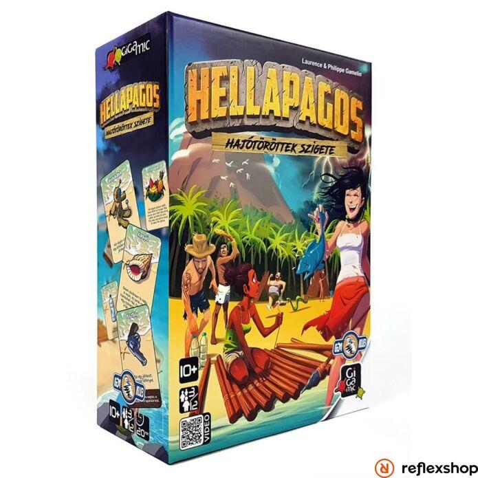 Hellapagos társasjáték-Reflexshop