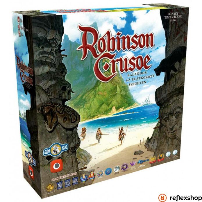 Robinson Crusoe - Kalandok az elátkozott szigeten társasjáték