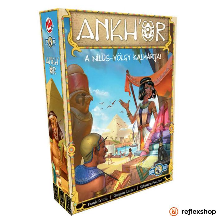 Ankh'or: A Nílus-völgy kalmárjai társasjáték