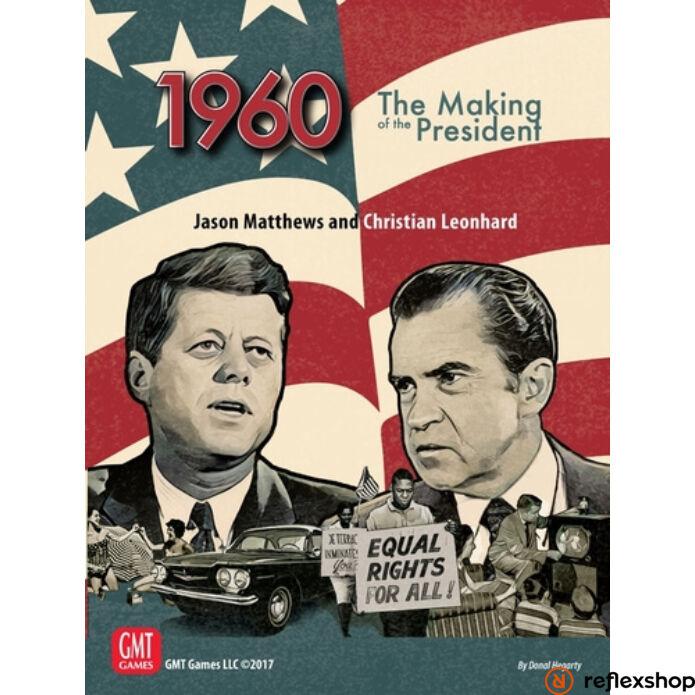 1960, The Making of the President angol nyelvű társasjáték