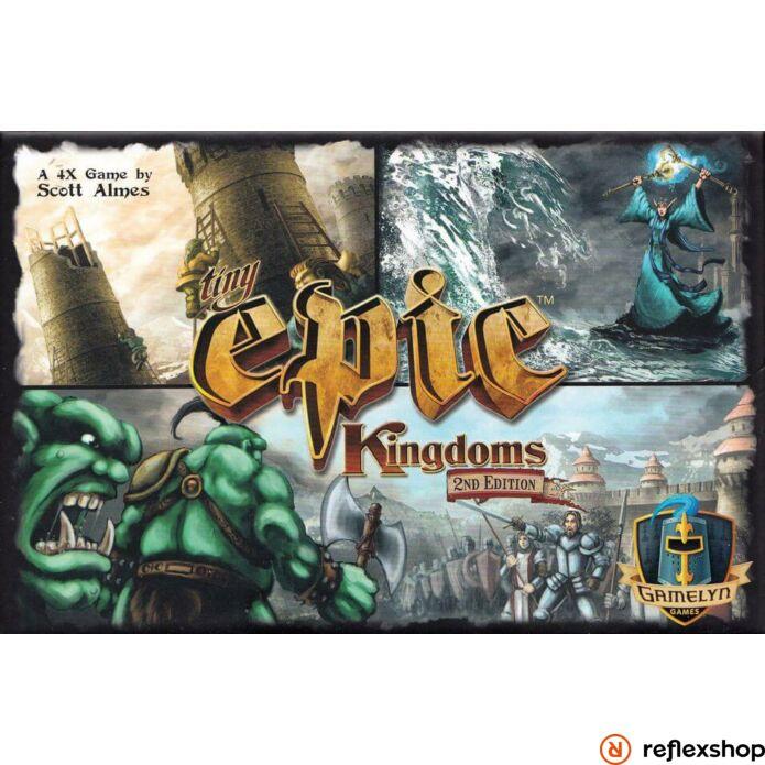 Tiny Epic Kingdoms társasjáték, angol nyelvű (második kiadás)