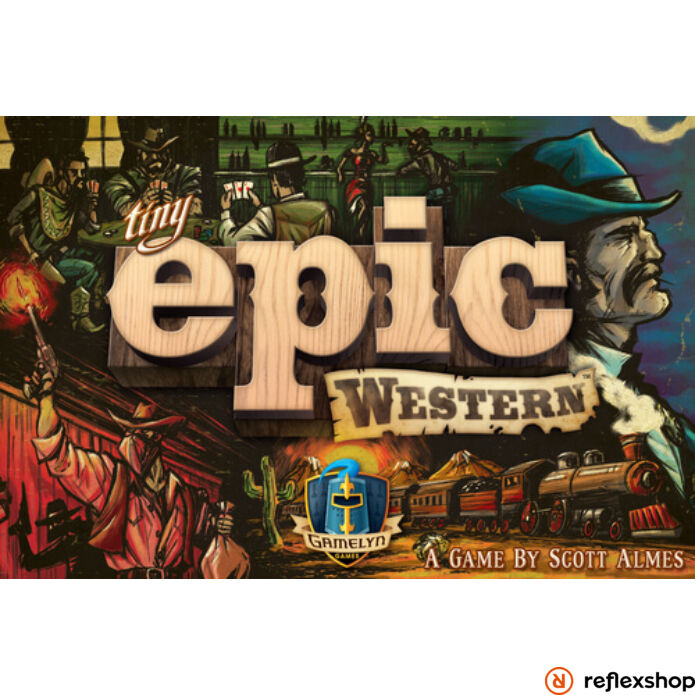Tiny Epic Western angol nyelvű társasjáték