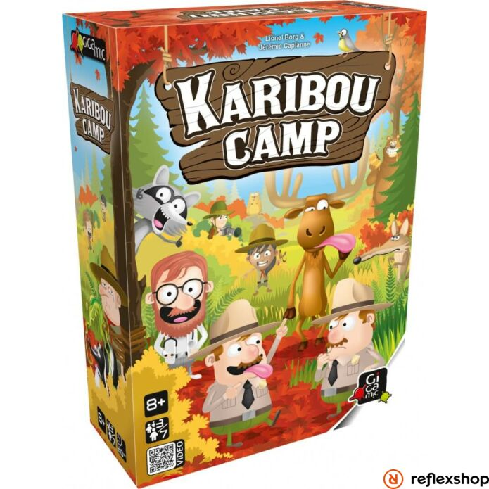 Gigamic Karibou Camp társasjáték