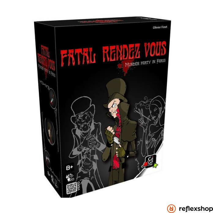 Gigamic Fatal Rendez-vous társasjáték